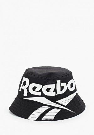 Панама Reebok Classic CL Vector Bucket Hat. Цвет: черный