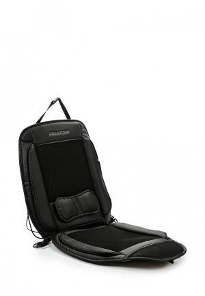 Массажер для тела Gezatone AMG389 массажная накидка автомобильная. Цвет: черный