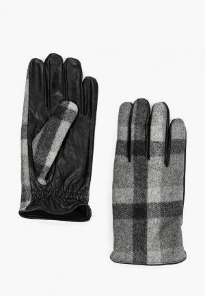 Перчатки Mango Man P MIXTURE. Цвет: серый