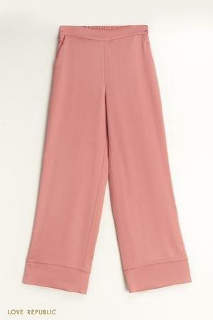 Домашние брюки из атласа LOVE REPUBLIC