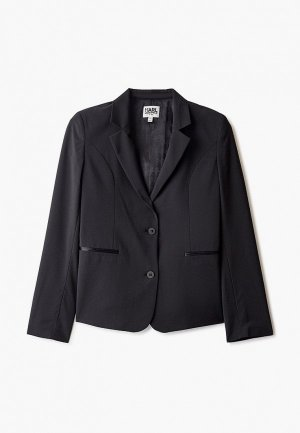 Пиджак Karl Lagerfeld Kids. Цвет: черный