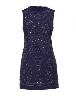 Короткое платье DENNY ROSE. Цвет: фиолетовый
