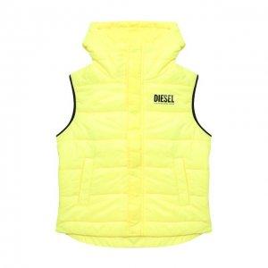 Жилет Diesel. Цвет: жёлтый