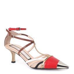 Туфли N220E8835 красный №21