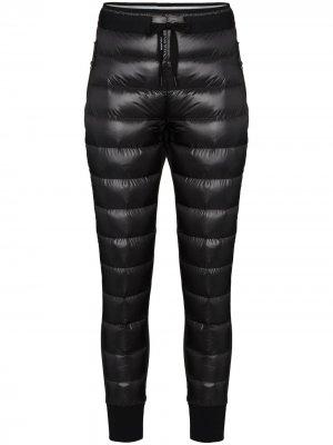 Стеганые спортивные брюки Hybrid Holden. Цвет: черный