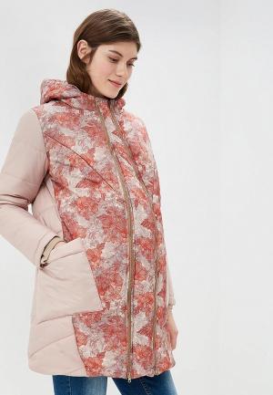 Куртка утепленная Очаровательная Адель. Цвет: бежевый