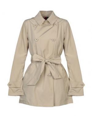 Легкое пальто GEOSPIRIT. Цвет: песочный