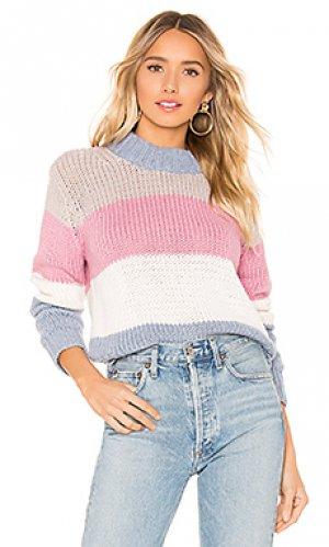 Пуловер gigi One Grey Day. Цвет: rose