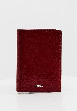 Обложка для паспорта Furla. Цвет: бордовый