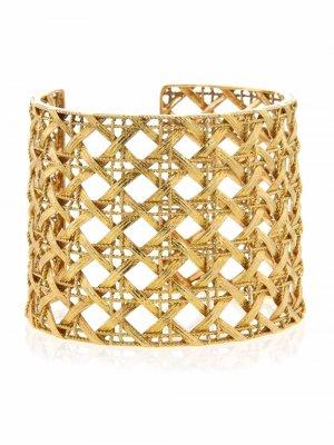 Браслет Dior My из желтого золота 2010-х годов Christian. Цвет: золотистый