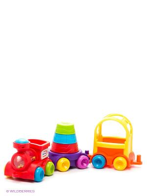 Игрушка развивающая Little Tikes. Цвет: фиолетовый, красный, желтый