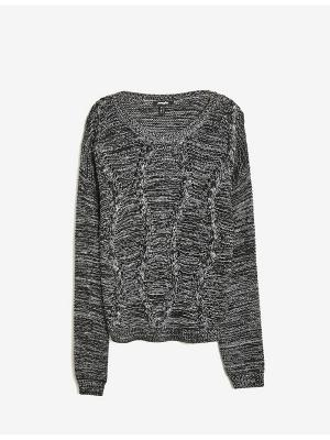Пуловер Jennyfer. Цвет: черный, белый