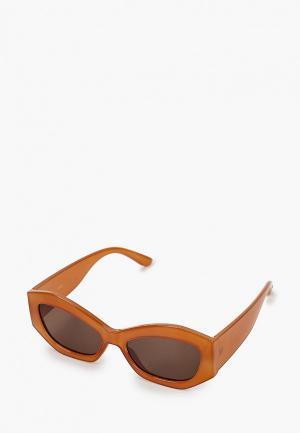 Очки солнцезащитные Mango - DANA. Цвет: коричневый