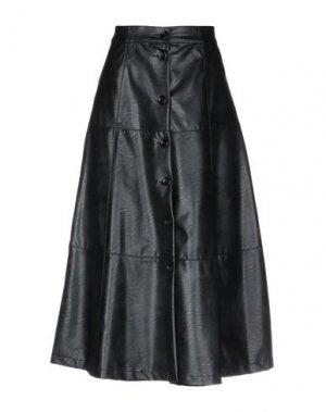 Юбка длиной 3/4 ANNARITA N TWENTY 4H. Цвет: черный