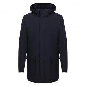 Утепленная куртка Paul&Shark. Цвет: синий