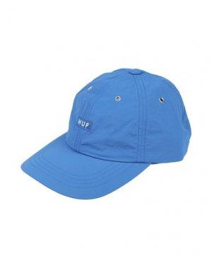 Головной убор HUF. Цвет: синий