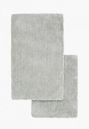 Комплект ковриков Sofi De Marko 60х100с м, 50х70 см. Цвет: серый