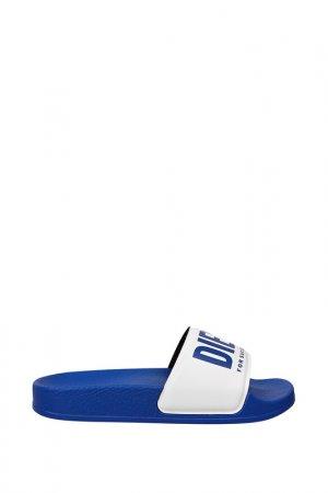 Шлепанцы пляжные Diesel. Цвет: синий