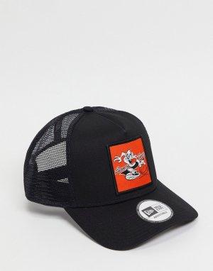 Черная бейсболка 940-Черный New Era