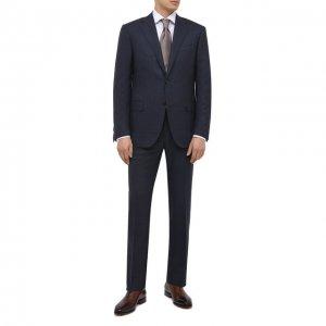 Шерстяной костюм Corneliani. Цвет: синий