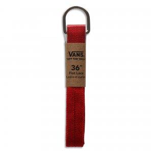 Шнурки Vans 91 см. Цвет: красный