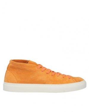 Высокие кеды и кроссовки DIEMME. Цвет: оранжевый