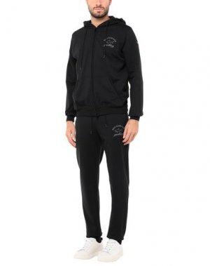 Спортивный костюм PAUL & SHARK. Цвет: черный