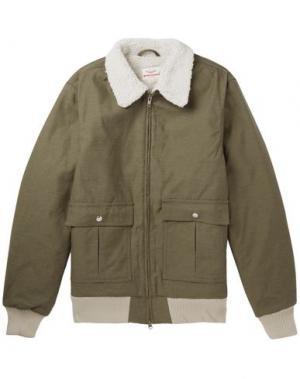 Куртка BATTENWEAR. Цвет: зеленый-милитари