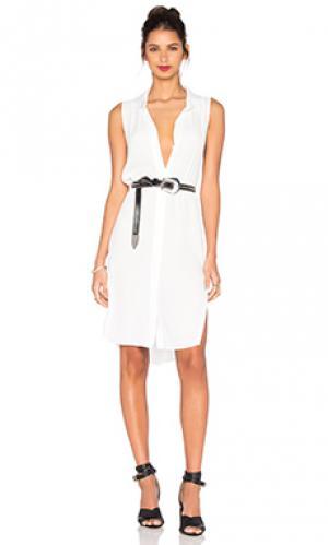 Платье-майка Central Park West. Цвет: белый