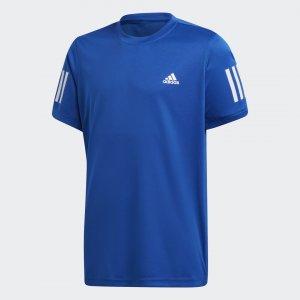 Футболка для тенниса 3-Stripes Club Performance adidas. Цвет: белый