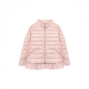 Пуховая куртка Herno. Цвет: розовый