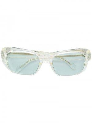Солнцезащитные очки в квадратной оправе Celine Eyewear. Цвет: нейтральные цвета