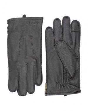 Перчатки BARBOUR. Цвет: темно-коричневый