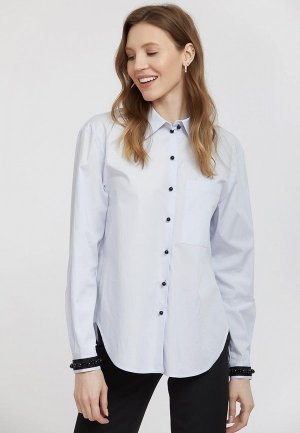 Рубашка Charuel. Цвет: голубой