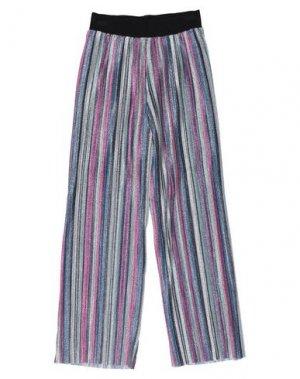 Повседневные брюки CUSTO BARCELONA. Цвет: серебристый