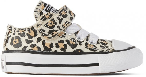 Baby Off-White Chuck Taylor All Star Sneakers Converse. Цвет: drift/fawn