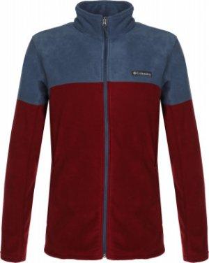 Джемпер флисовый мужской Basin Trail™ III Full Zip, размер 50-52 Columbia. Цвет: красный