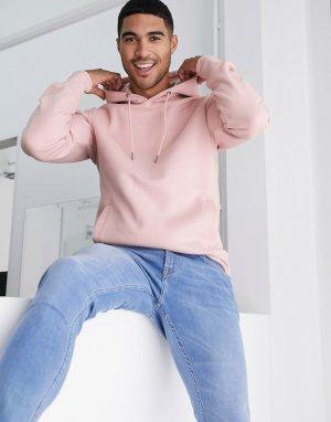 Худи розового цвета -Розовый Celio