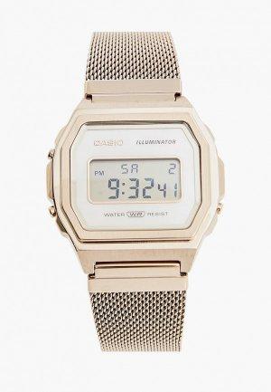 Часы Casio Collection A1000MCG-9EF. Цвет: золотой