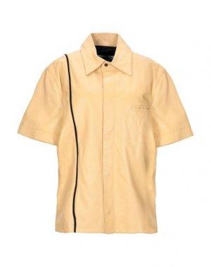 Pубашка DIRK BIKKEMBERGS. Цвет: охра