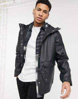 Парка-дождевик с карманом и капюшоном -Черный цвет Herschel Supply Co