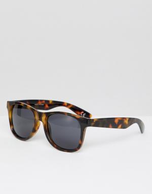 Солнцезащитные очки в черепаховой оправе Spicoli VN000LC0PA91-Коричневый Vans