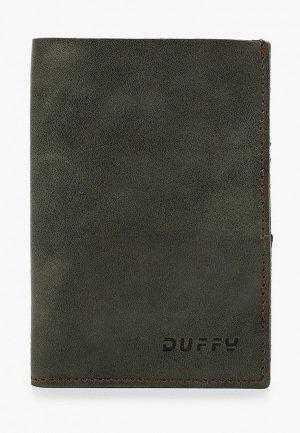 Обложка для документов Duffy. Цвет: хаки