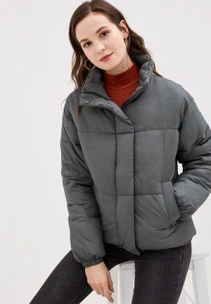 Куртка утепленная b.young. Цвет: серый