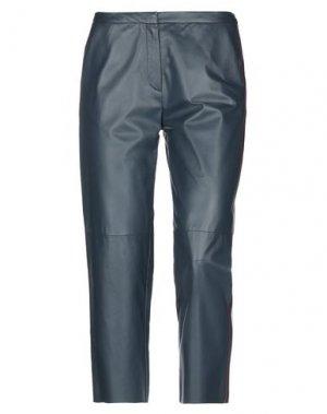 Повседневные брюки DROMe. Цвет: темно-синий