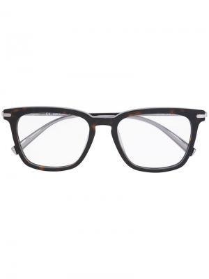Square-frame optical glasses Salvatore Ferragamo Eyewear. Цвет: серый