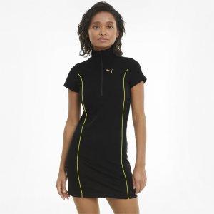 Платье Evide Bodycon Womens Dress PUMA. Цвет: черный