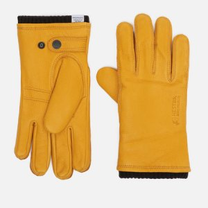 Перчатки x Hestra Utsjo Norse Projects. Цвет: жёлтый