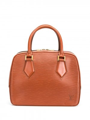 Сумка-тоут Epi Sablon pre-owned Louis Vuitton. Цвет: коричневый