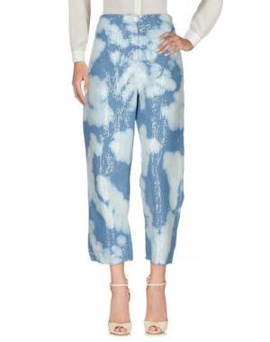 Повседневные брюки 8PM. Цвет: синий